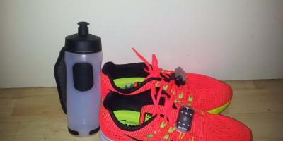 Trinken beim Laufen