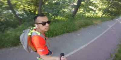 Laufen mit Rucksack