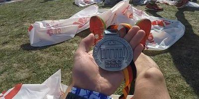 Berlin Marathon 2016 Medaille