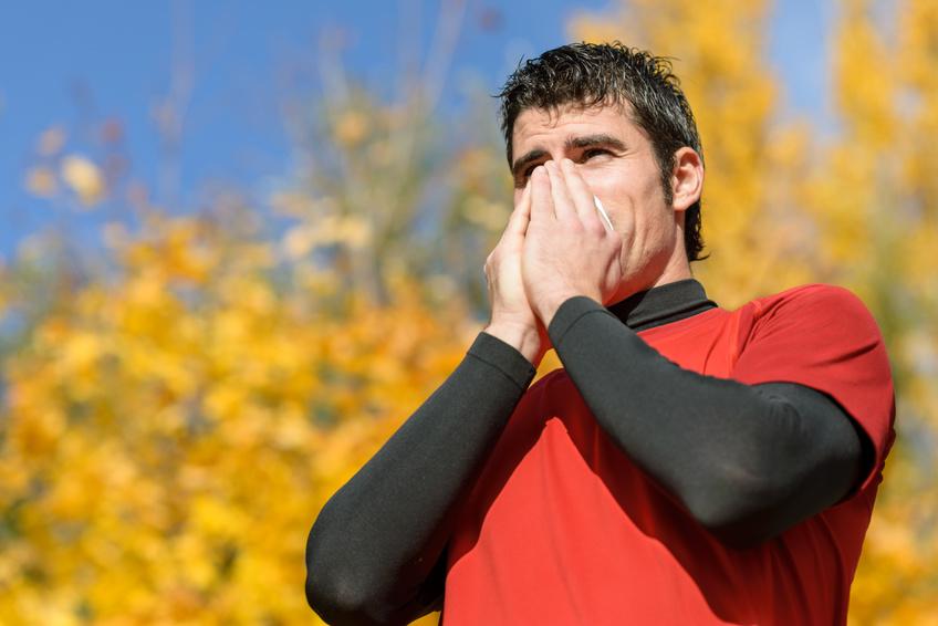 Laufen trotz Erkältung