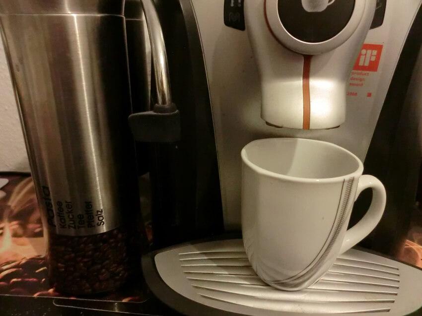 Kaffee vor dem Laufen