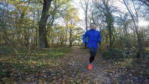 Motivation Joggen im Herbst