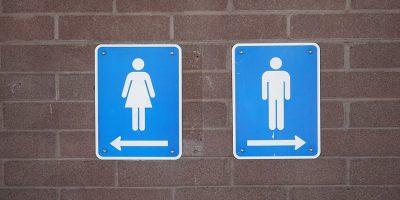 Toilettengang vor dem Laufwettbewerb