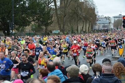 Marathon finishen
