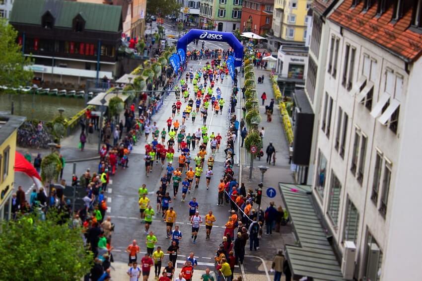So schaffst du einen Marathon