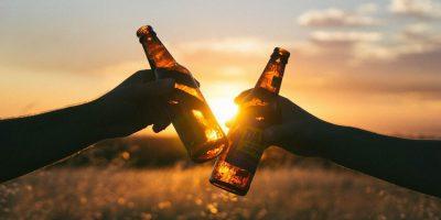 Laufen und Alkohol