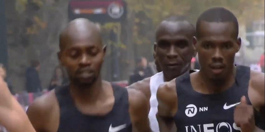 Eliud Kipchoge läuft Marathon unter 2 Stunden